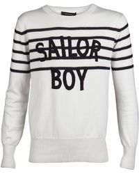 Unconditional - Sailor Boy Embroidered Pullover - Lyst