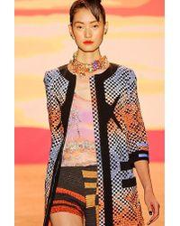 Jen Kao | Thin Strap Light Cotton Print Top | Lyst