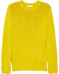 Altuzarra Outboard Chunkyknit Cotton Sweater - Lyst