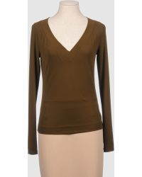 Donna Karan New York Long Sleeve T-shirts - Lyst