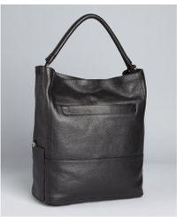 Furla Black Pebbled Leather 'Taormina' Shoulder Bag 7