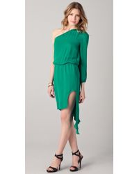 Mason by Michelle Mason Asymmetrical Dress - Lyst