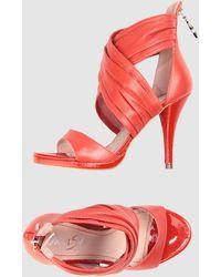 Miss Sixty Highheeled Sandals - Lyst