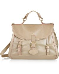 See By Chloé Poya Metallic Leather Doctor Bag - Lyst