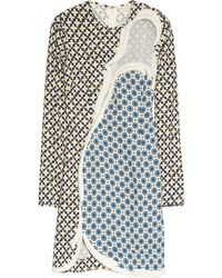 Stella McCartney Hackett Printed Stretch Crepe Dress - Lyst