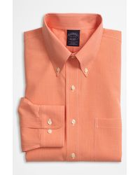 Brooks Brothers Noniron Dress Shirt - Lyst