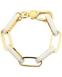 Marc By Marc Jacobs Turnlock Enamel Link Bracelet - Lyst