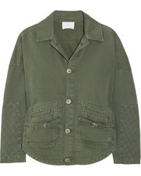 Boy by Band of Outsiders Cotton Jacket - Lyst