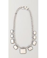 Rachel Leigh - Tallulah Metal Layer Necklace - Lyst