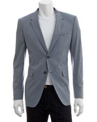 Shipley & Halmos Indigo Stripe Blazer - Lyst