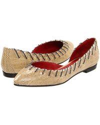 Bottega Veneta Flat Shoes - Lyst