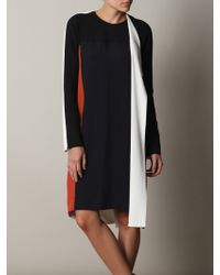 Balenciaga Silk Crepe Dress - Lyst