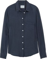 Boy by Band Of Outsiders Cotton and Silk Blend Shirt - Lyst