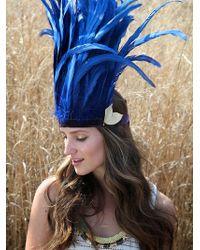 Free People Wanderlust Feather Headdress - Lyst