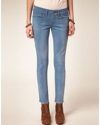 Levi's Levis Curve Id Slight Curve Ankle Skinny Jeans - Lyst