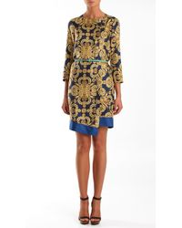 Tibi Horseshoe Crab Shirt Dress - Lyst
