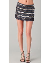 Parker Tribal Beaded Skirt - Lyst