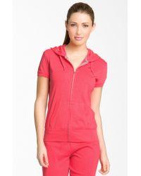 Nike Short Sleeve Jersey Hoodie - Lyst