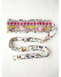 Free People Floral Galore Obi Belt - Lyst