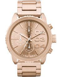 Diesel Round Chronograph Bracelet Watch - Lyst