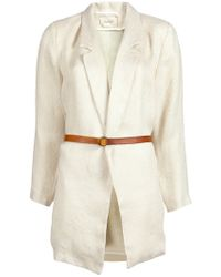 Giada Forte - Woven Jacket - Lyst