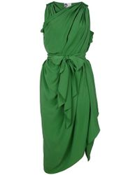 Lanvin Wrap and Drape Dress - Lyst