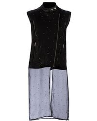 Maison Martin Margiela Leather Gilet - Lyst