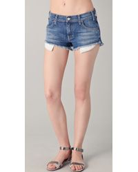 Textile Elizabeth and James - Dixon Jean Shorts - Lyst