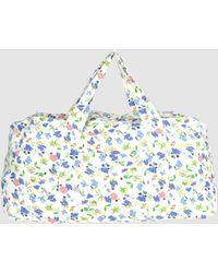 Ganni Medium Fabric Bag - Lyst