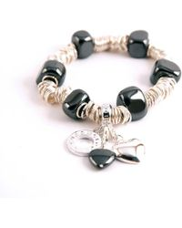 Charmology - Charmology Energy Rings Bracelet with 3 Charms - Lyst