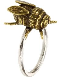 French Connection - Bee Ring - Lyst