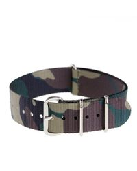 J.Crew Camo Watch Strap green - Lyst
