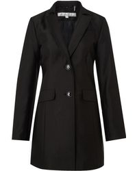 Kenneth Cole - Double Breasted Trench Coat - Lyst