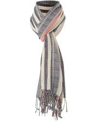 Linea Weekend - Woven Striped Scarf - Lyst