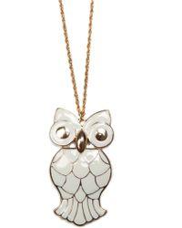Mango | Owl Necklace | Lyst