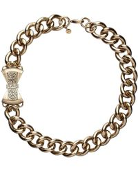 Mimco - Imperial Bow Chain Neck - Lyst
