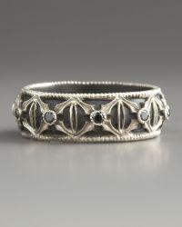 Armenta - Diamond Band Ring - Lyst