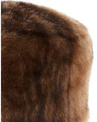 ASOS - Asos Faux Fur Cossack Hat - Lyst