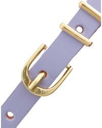 ASOS - Asos Pastel Metal Keeper Super Skinny Belt - Lyst