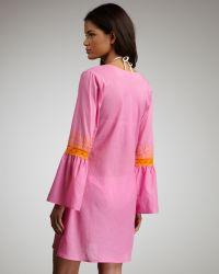 Debbie Katz - Kimono Embroidered Tunic - Lyst