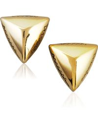House of Harlow 1960 - Faceted Triangle Stud Earrings - Lyst