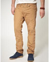 Diesel Braddom Slim Carrot Jeans - Lyst