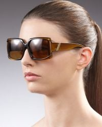 Jee Vice - Mini Red Hot Sunglasses Golden - Lyst