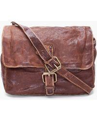 Officine Creative - Leather Messenger Bag - Lyst