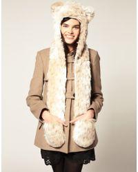 Spirit Hoods Spirithoods Snow Leopard Hood - Lyst