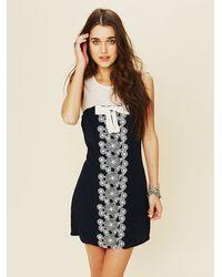 Free People Daisy Garden Shift Dress - Lyst