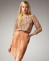 Kelly Wearstler - Azalea Pencil Skirt - Lyst