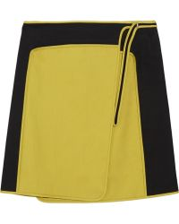 Reed Krakoff | Cottonsateen Wrap Skirt | Lyst