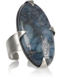 Chan Luu - Silver Lapis Lazuli Ring - Lyst
