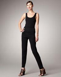 Donna Karan New York Modern Jersey Pants - Lyst